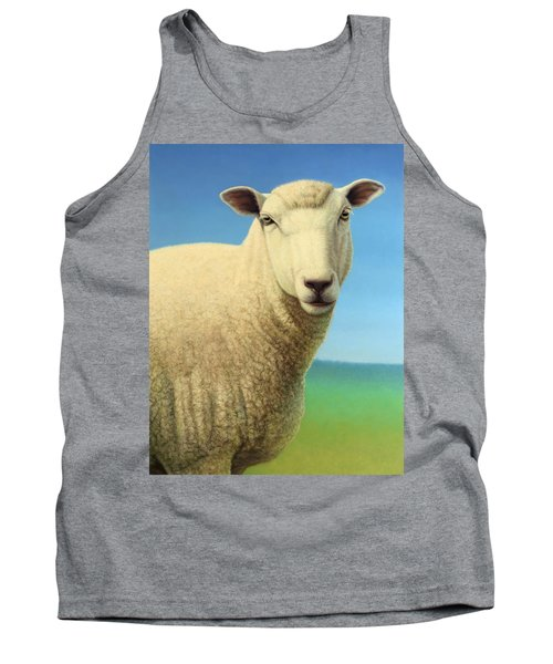 Portrait Of A Sheep Tank Top