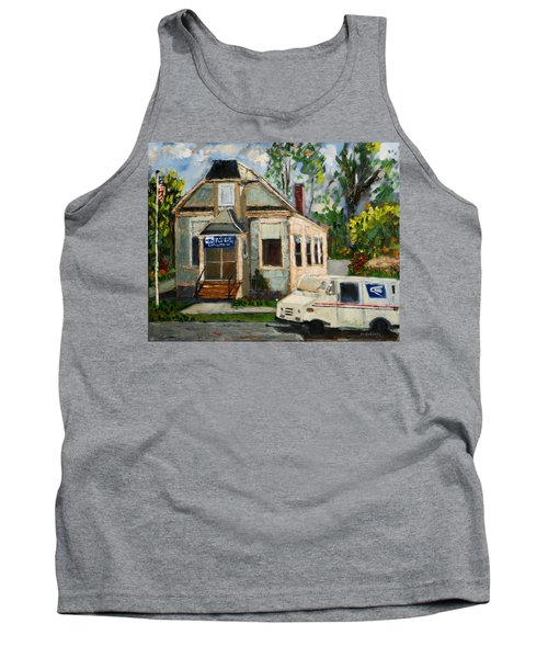 Post Office At Lafeyette Nj Tank Top