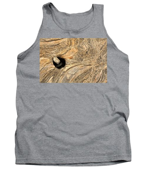 Pothole And Stone Pemaquid Point Maine Tank Top