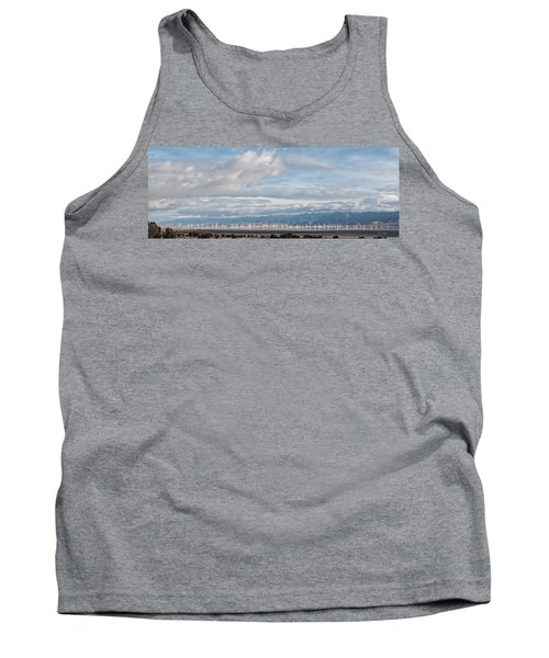 Power From The Wind In Western Skies Tank Top by Michael Flood