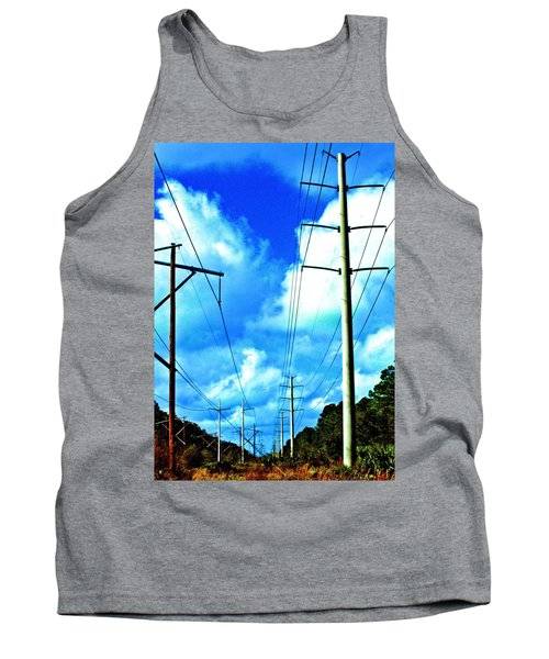 Power To The Infinity Tank Top