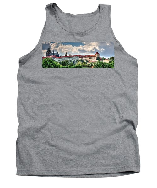 Tank Top featuring the photograph Prague Castle by Joe  Ng