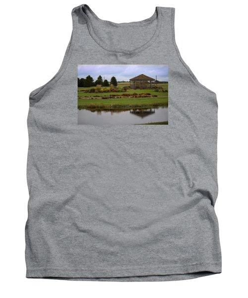 Tank Top featuring the photograph Prairie Arboretum  by Rebecca Davis