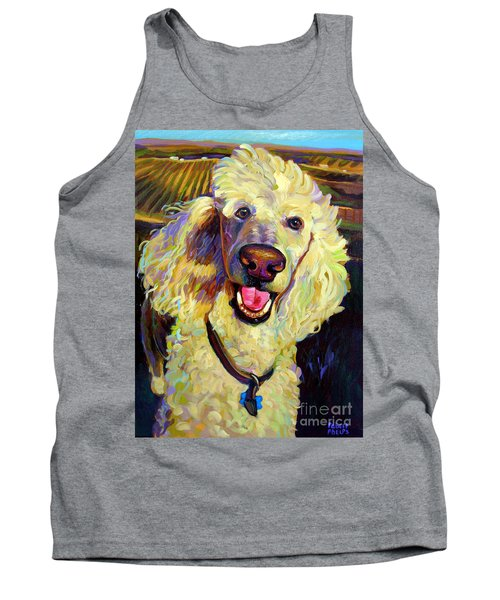 Princely Poodle Tank Top
