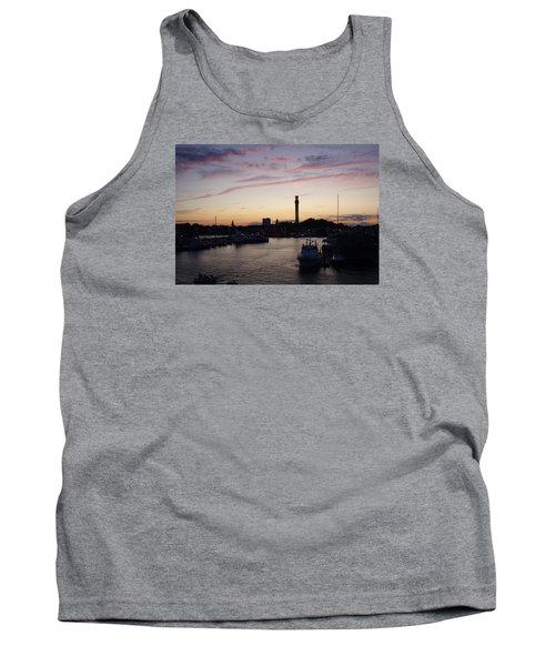 Provincetown Sunset Tank Top by Robert Nickologianis