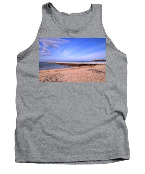 Prybil Beach Pier Tank Top