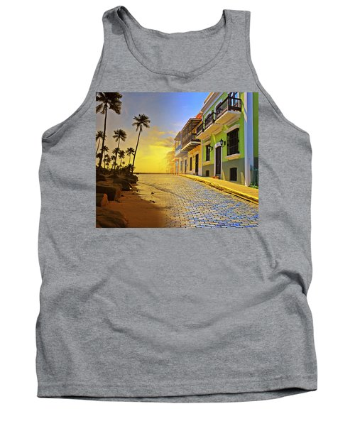 Puerto Rico Collage 2 Tank Top by Stephen Anderson