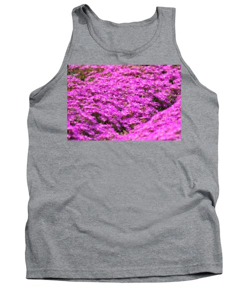 Tank Top featuring the photograph Purple Hills by Amy Gallagher
