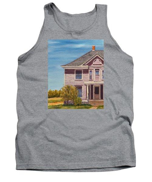 Purple House On The Prairie Tank Top