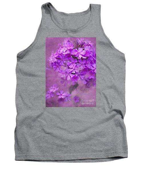 Purple Phlox Tank Top