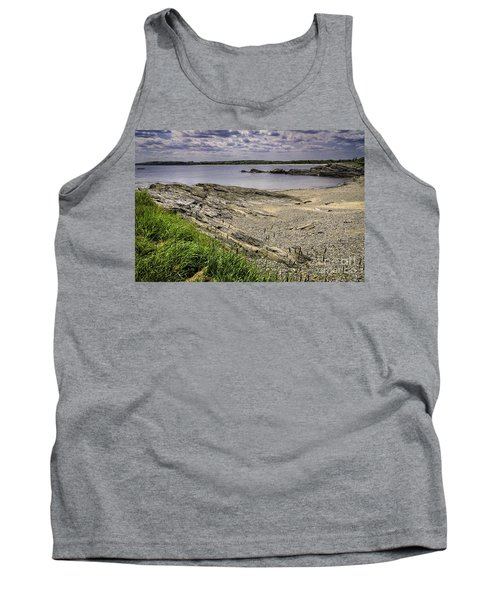 Tank Top featuring the photograph Quiet Cove by Mark Myhaver
