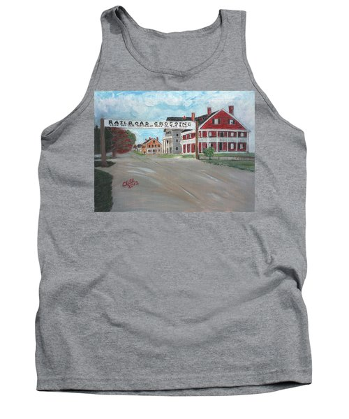 Railroad Crossing Tank Top