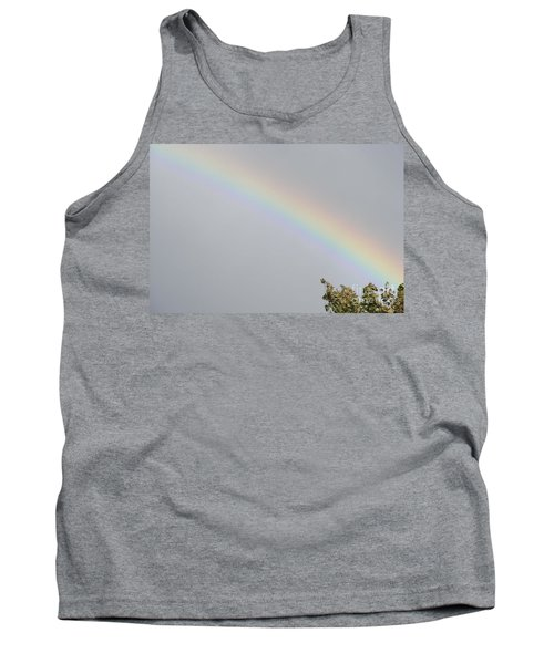 Rainbow After The Rain Tank Top by Barbara Griffin