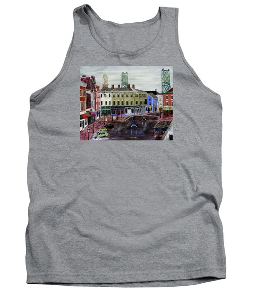 Rainy Day On Market Square Tank Top