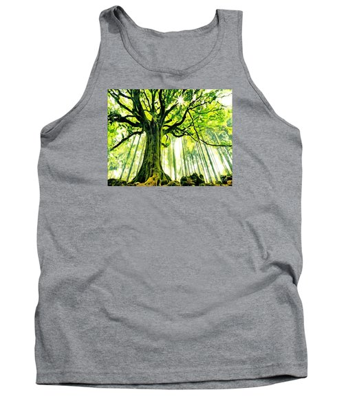 Raised By The Light Tank Top by Catherine Lott