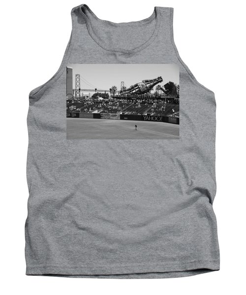 Raking The Lawn Tank Top