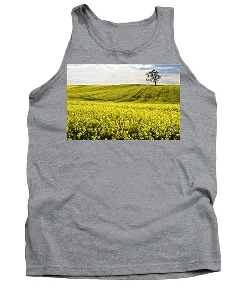 Rape Landscape With Lonely Tree Tank Top