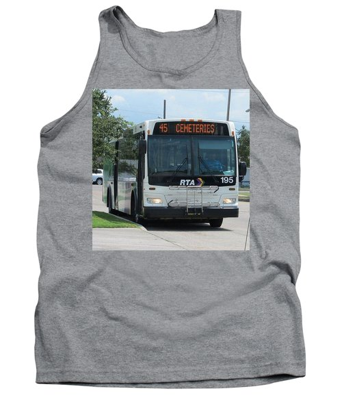 Cemeteries - Rapid Transit Authority - New Orleans La Tank Top