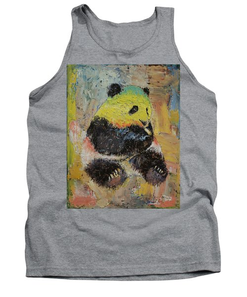 Rasta Panda Tank Top