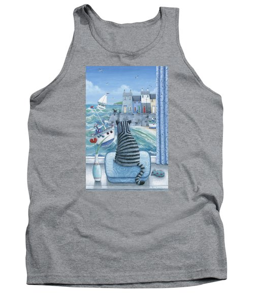 Rather Mew Tank Top by Peter Adderley