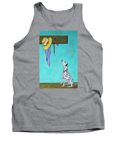 Ready To Go Out Tank Top