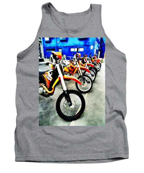 Ready To Ride Tank Top by Steve Taylor