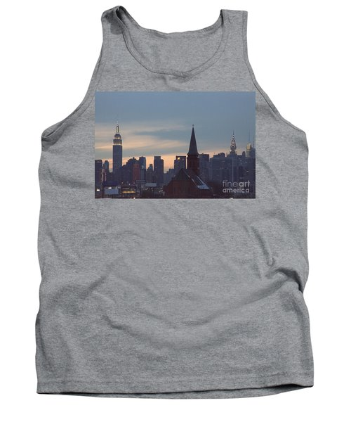 Tank Top featuring the photograph Red Church by Steven Macanka