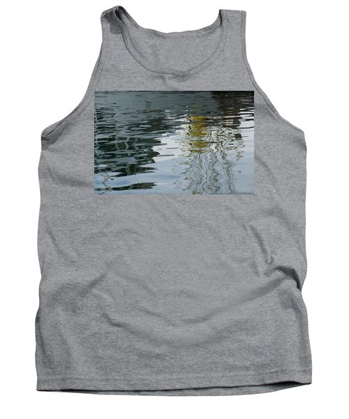 Tank Top featuring the photograph Reflecting On Autumn Trees by Georgia Mizuleva