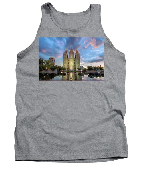 Tank Top featuring the photograph Reflecting On Faith by Dustin  LeFevre