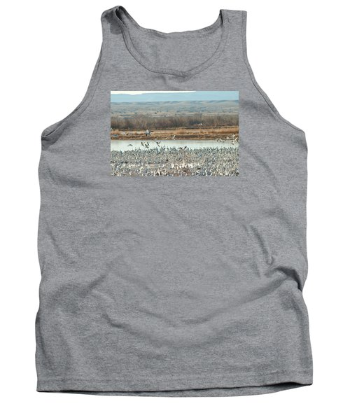 Refuge View 1 Tank Top by James Gay