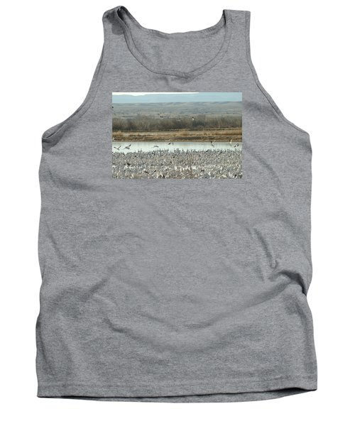 Refuge View  Tank Top by James Gay