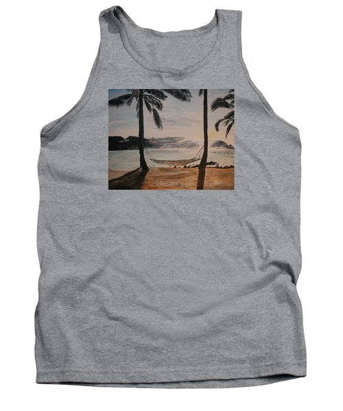 Relaxing At The Beach Tank Top