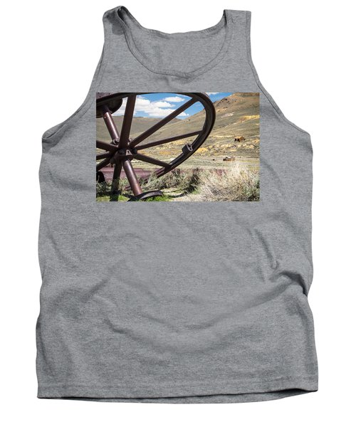 Tank Top featuring the photograph Relics Of Bodie by Steven Bateson