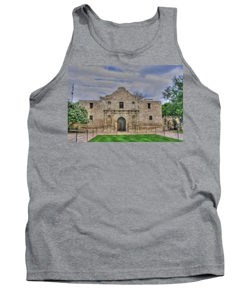 Remember The Alamo Tank Top by Barry Jones