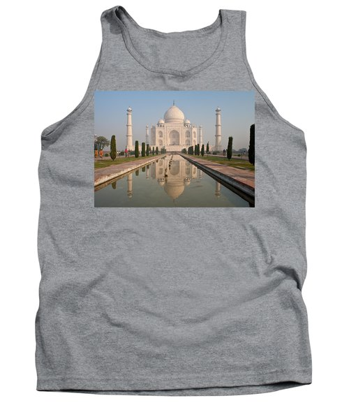 Resplendent Taj Mahal Tank Top by Mike Reid
