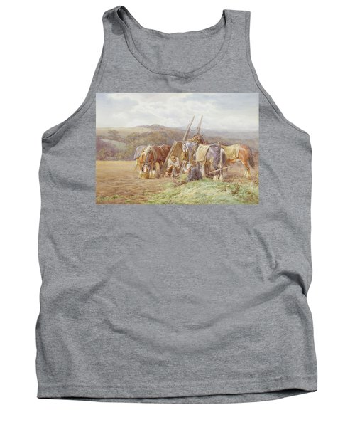 Resting In The Field  Tank Top