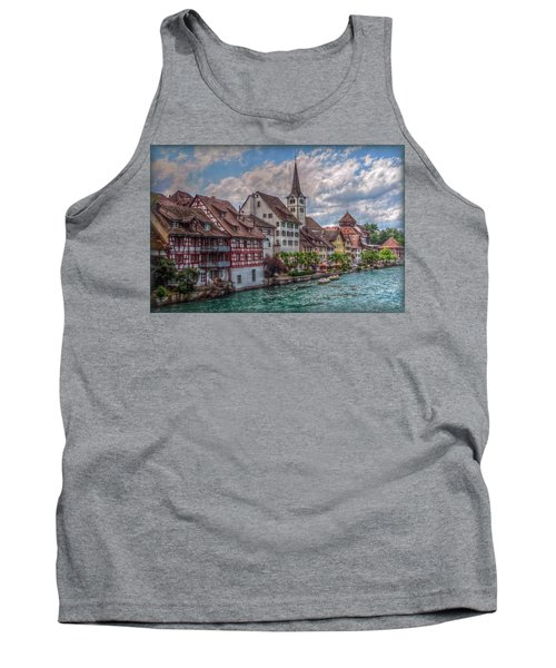 Tank Top featuring the photograph Rhine Bank by Hanny Heim