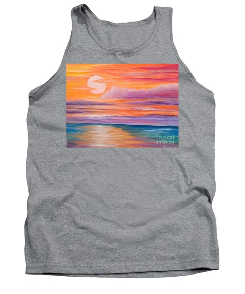 Ribbons In The Sky Tank Top by Holly Martinson