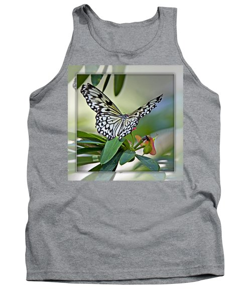 Rice Paper Butterfly 2b Tank Top