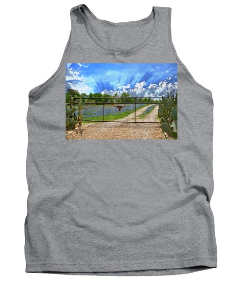 Rise And Shine Tank Top by Lynn Bauer