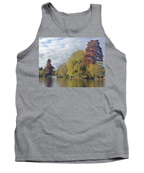 River Avon In Autumn Tank Top