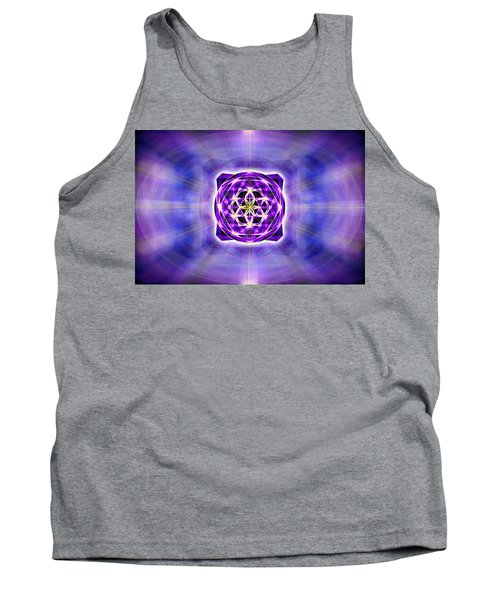 Tank Top featuring the drawing River Of Ascended Light by Derek Gedney
