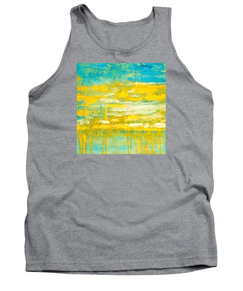 Tank Top featuring the painting River Of Praise by Donna Dixon