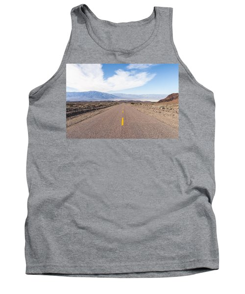 Road To Death Valley Tank Top by Muhie Kanawati
