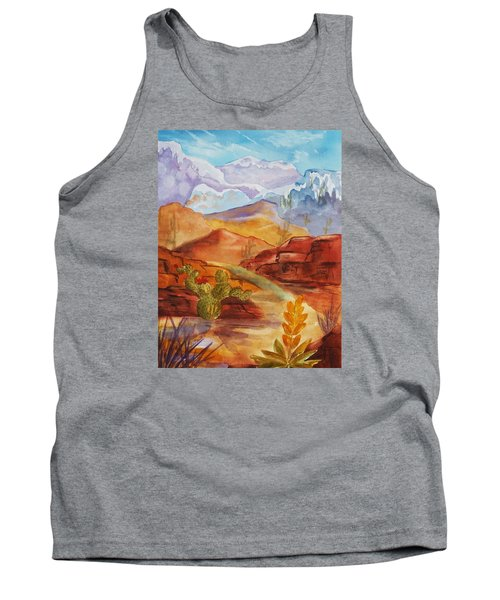 Road To Nowhere Tank Top by Ellen Levinson