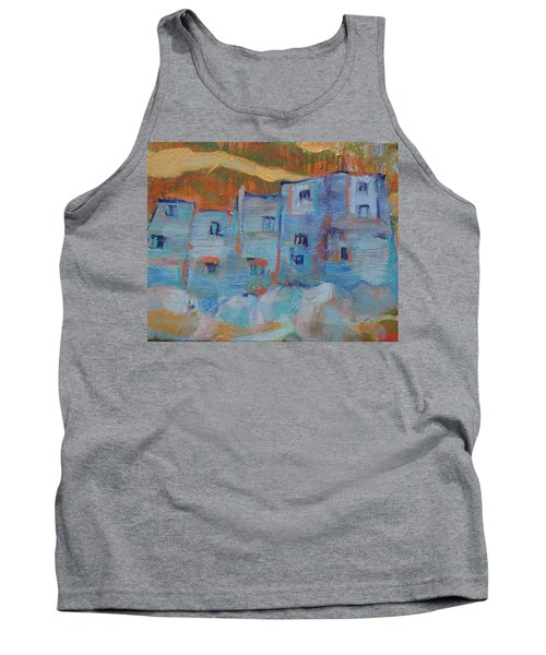 Rock City Abstract Tank Top
