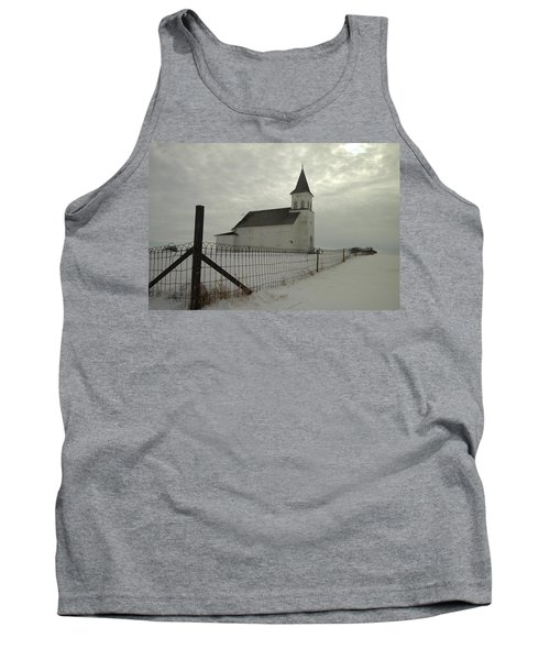 Rock Of Ages In North Dakota Tank Top by Jeff Swan