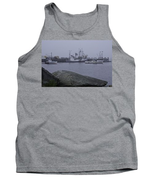 Tank Top featuring the photograph Rockland Me by Daniel Hebard