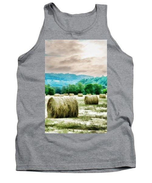 Rolled Bales Tank Top