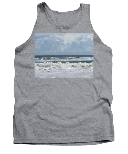Rolling Clouds And Waves Tank Top